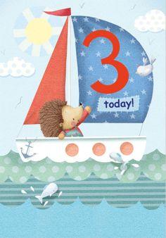 Lizzie Walkley - Hedghog_boat_agecard