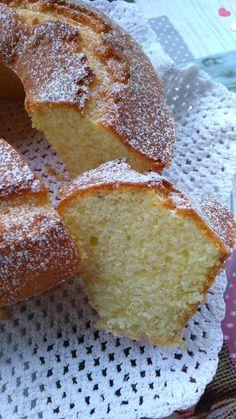 CIAMBELLA DEL SOR..RISO - LA CROSTATINA Yogurt, Plum Cake, 1200 Calories, Sponge Cake, Almond Recipes, Bon Appetit, Italian Recipes, Cheesecake, Muffin