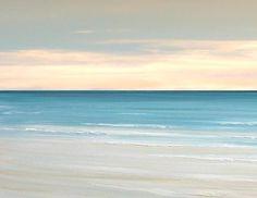 Beach ocean sea painting art print seascape by FradetFineArt, $40.00