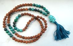 Cramp Soothing Mala with Rudraksha