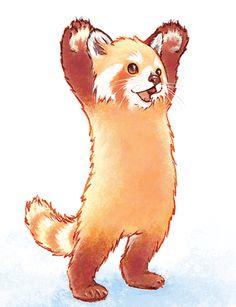Cute Animal Drawings, Kawaii Drawings, Cool Drawings, Cute Panda Drawing, Neotraditional Tattoo, Panda Illustration, Baby Animals, Cute Animals, Panda Art