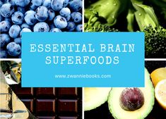 Have you ever wondered if there are special foods that we can eat or feed our children to help with brain power? Here are 6 great examples of how you can boost your brain. Brain Food, Learn To Read, Superfoods, Food Inspiration, Blueberry, Essentials, Fruit, Books, Recipes