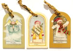 Lynne Andrews Faith, Hope and Charity Ornaments Pattern Packet. 25 Days Of Christmas, Christmas Crafts, Christmas Ornaments, Painted Ornaments, Line Drawing, Gift Tags, Charity, Projects To Try, Gift Wrapping