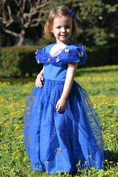 Cinderella costume - déguisement Cendrillon 2015