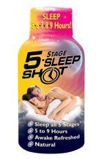 Free Sample of 5 Stage Sleep Shot