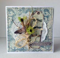 Riddersholm Design: Barnmarket Vintage Cards with Cathi