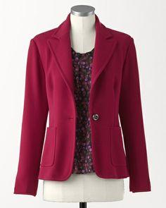 Cosmopolitan crepe jacket #ColdwaterCreek