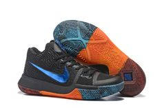 new product b7198 cbadf Cheap Nike Kyrie Irving 3 Shoes Blue Black Orange Basketball Shoes On Sale, Kyrie  Irving