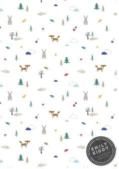 Emily Kiddy: Print and Pattern Wallpaper Iphone Cute, Cute Wallpapers, Autumn Phone Wallpaper, Ideas Habitaciones, Vintage Hairstyles Tutorial, Kids Prints, Pattern Illustration, Cute Pattern, Surface Pattern Design
