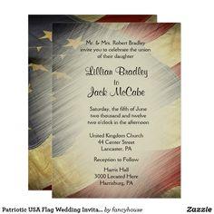 Patriotic USA Flag W