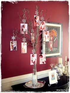 Photo Tree - love this!!!