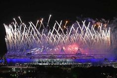 London 2012 Summer Olympics - Opening Ceremony fireworks
