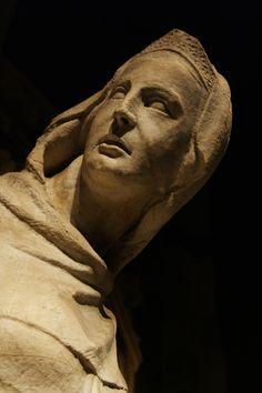 La profetessa Miriam di Giovanni Pisano (ca. 1285-97). Siena, Museo dell'Opera del Duomo. Foto di Maddalena Mongera su 500px.