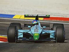 Ivan Capelli of Italy drives the Leyton House Racing Leyton House Judd to a second place finish at the French Grand Prix on July 1990 at. Real Racing, F1 Racing, Aston Martin, Grand Prix, Le Mans, Ferrari F12berlinetta, Bristol, Formula 1 Car, Good Old Times
