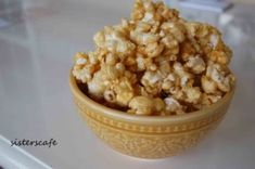 Super fast and easy Caramel Popcorn