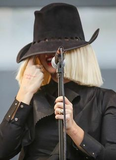 Sia, May 2015! She's so damn cute. Yes, I have a slight crush on Sia. What's it to ya? ;)
