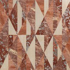 Opus | Tangram ginger by Lithos Design | Natural stone panels