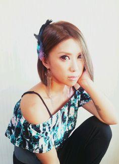 hair color makeup♡  hitomi.yanagida