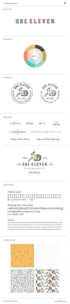 One Eleven Photography Brand Identity Board by BRAIZEN