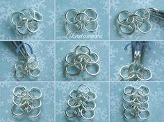 Европейское кольчужное плетение | ВДНТ - лучшие работы мастеров рукоделия