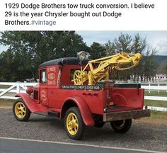 1929 Dodge Brothers tow truck conversion.
