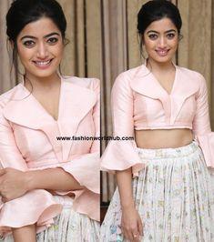 Rashmika Mandana in Mahitha Prasad | Fashionworldhub