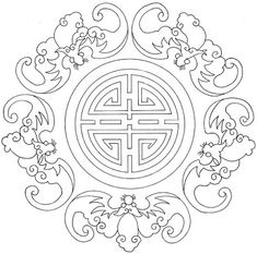 Great Photos chinese Embroidery Patterns Ideas So you have discovered almost all the essential connected with regular sewing, taken online stitching courses Embroidery Designs, Embroidery Transfers, Embroidery Patterns Free, Crewel Embroidery, Vintage Embroidery, Machine Embroidery, Embroidery Digitizing, Embroidery Tattoo, Stencil Patterns