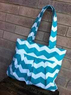 The Rae Tote Fabric Tote/Handbag/Hobo/Purse by ChicBasics on Etsy, $40.00