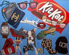 """Portrait Commission Erica Berman"" 48 x 60."