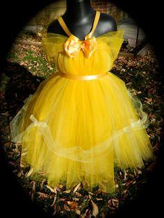 Simply BelleInspired Tutu Dress2Disney by SadiesSimplicity on Etsy, $35.00
