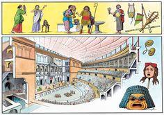 The Roman Theater ~ O. Scarpelli