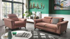 Sofa Hampton 3 - Sklep internetowy Mercus Sp z o. Sofa, Couch, The Hamptons, Relax, Interior Design, Poland, Furniture, Home Decor, Collection