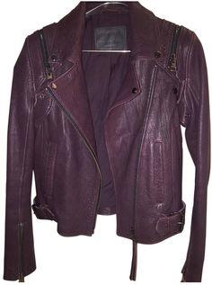 ALL SAINTS Leather biker jacket $310.86 thestylecure.com