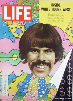 Peter Max's famous psychedelic art comes to RVA - RVANews