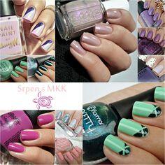 Malý koutek krásy: Srpen s MKK :) Nail Polish, Nails, Beauty, Finger Nails, Ongles, Nail, Beauty Illustration, Finger Nail Painting, Manicure