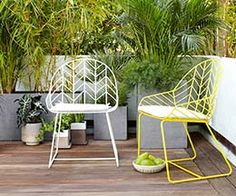 TOP 10: Colourful outdoor dining chairs