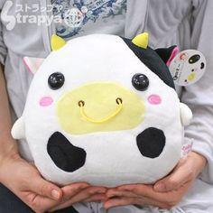 cute cow plushie :)