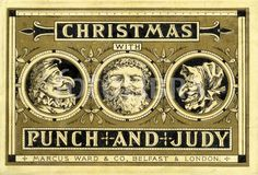 Christmas with Punch and Judy.