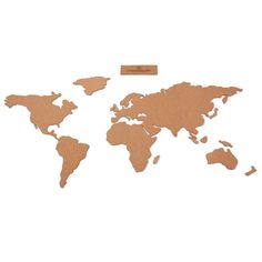 World map corkboard milimetrado cork design pinterest cork gumiabroncs Image collections