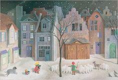 Silent Night Advent Calendar: Amazon.co.uk: Schroeder: 9781558584372: Books