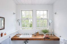 Unique Bathroom Vanity | Content in a Cottage