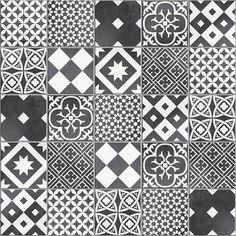 mosaique_sol_et_mur_gatsby_decor_noir_et_blanc
