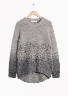 & Other Stories | Metallic Mohair-Blend Sweater