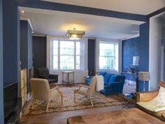 livingroom after Conference Room, Flooring, Living Room, Table, Furniture, Home Decor, Decoration Home, Room Decor, Wood Flooring