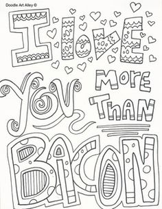valentines day doodle art free printable coloring pages celebrationdoodlecom