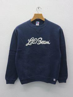 Vintage L.L Bean Sweatshirt Big Logo Outdoor Gear Adventure Sweater Size XL Sports Logo, Ll Bean, Sport Wear, Outdoor Gear, Beans, Crew Neck, Graphic Sweatshirt, Adventure, Big