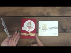 video for easy knots on cards #stampinup #creatinwithkirsteen #christmascuties
