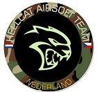 Teambadge HellCat Airsoft Team Netherlands
