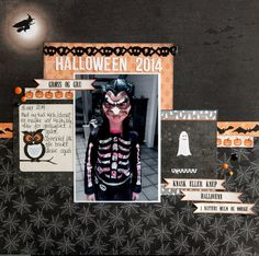 Halloween 2014 34/52  By: Lillesmor | 05-Sep-15    Papers and embellishments from Papirdesign.   papirdesign.blogspot.com  Entered in the following challenge: PROJECT 52 2015