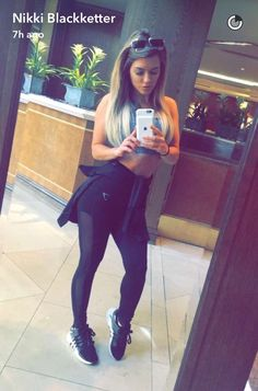 d060d260fddac 7 Best Nikki images | Snapchat, Girl workout, Fit motivation